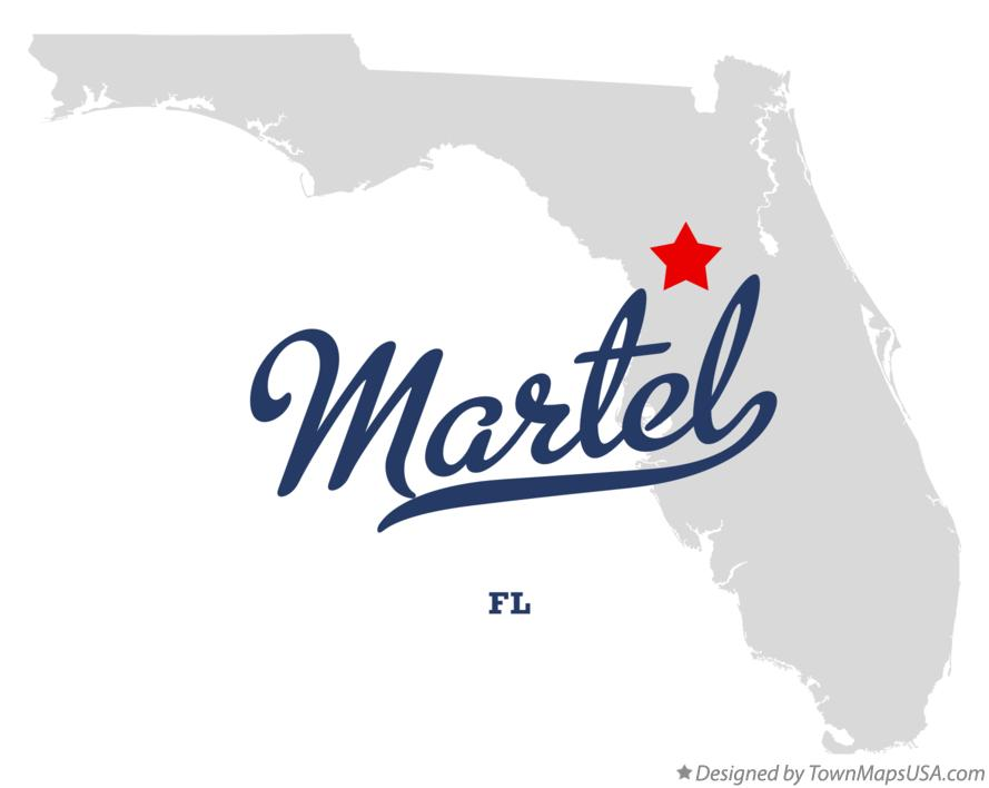 Map of Martel Florida FL