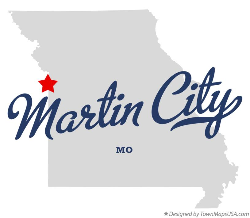 Map of Martin City Missouri MO