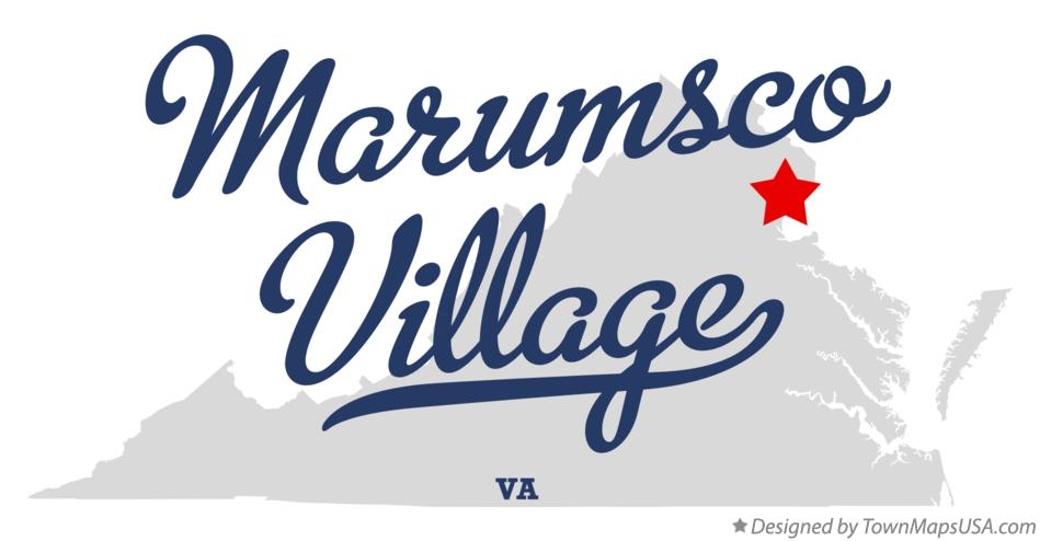 Map of Marumsco Village Virginia VA