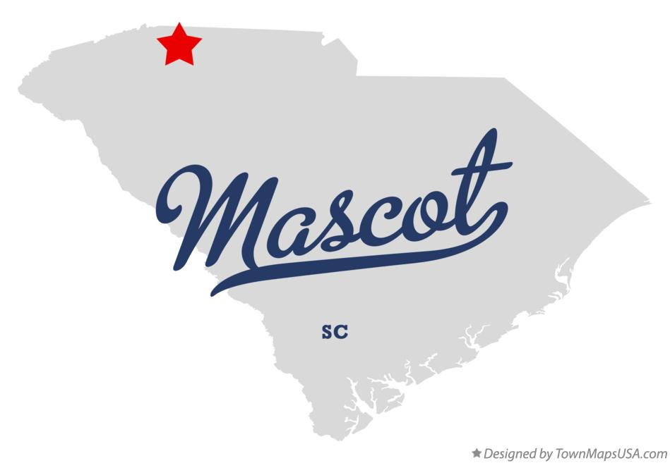 Map of Mascot South Carolina SC