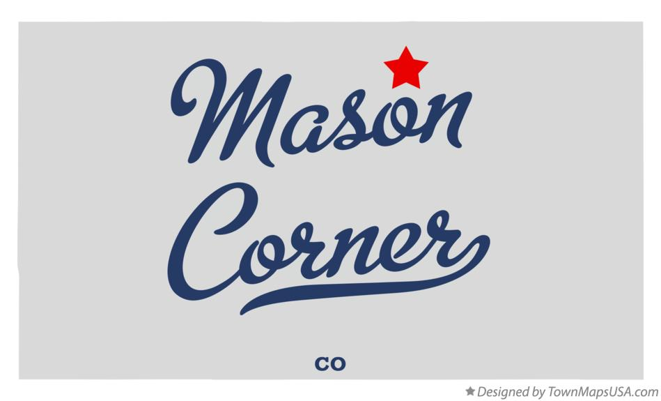 Map of Mason Corner Colorado CO