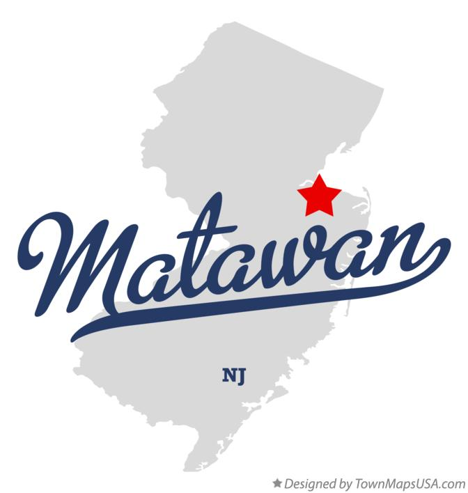 Image result for map of matawan nj