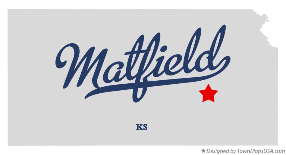 Map of Matfield Kansas KS