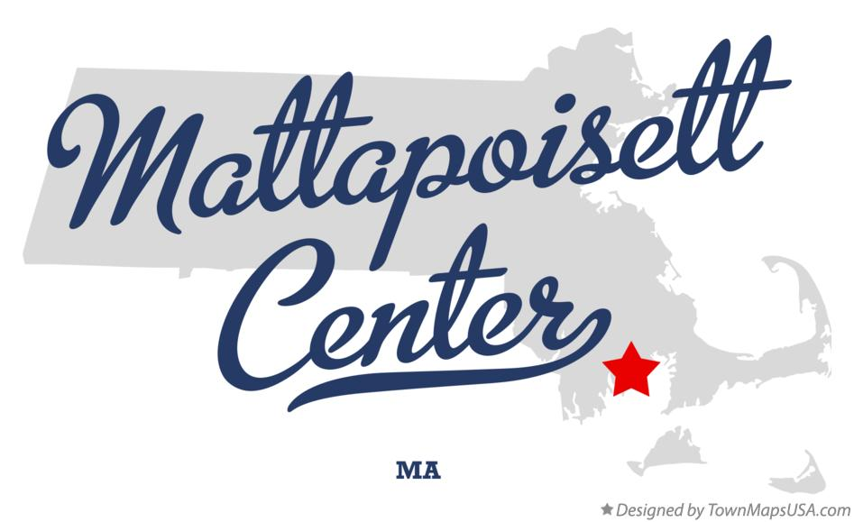 Map of Mattapoisett Center Massachusetts MA