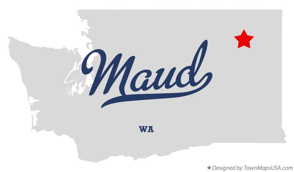 Map of Maud Washington WA