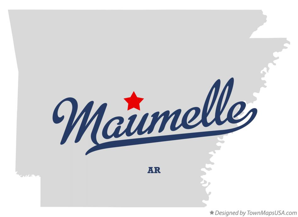 Map of Maumelle Arkansas AR