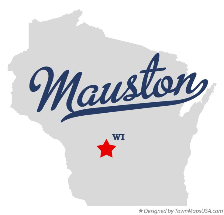 Map of Mauston Wisconsin WI