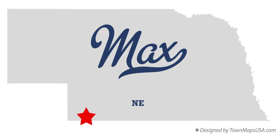 Map of Max Nebraska NE