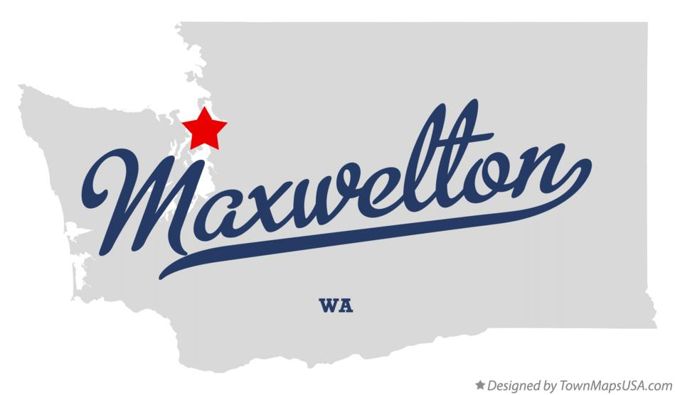 Map of Maxwelton Washington WA