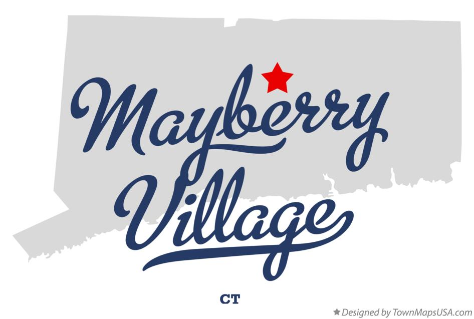 Map of Mayberry Village Connecticut CT