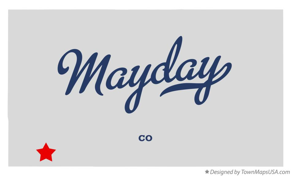Map of Mayday Colorado CO