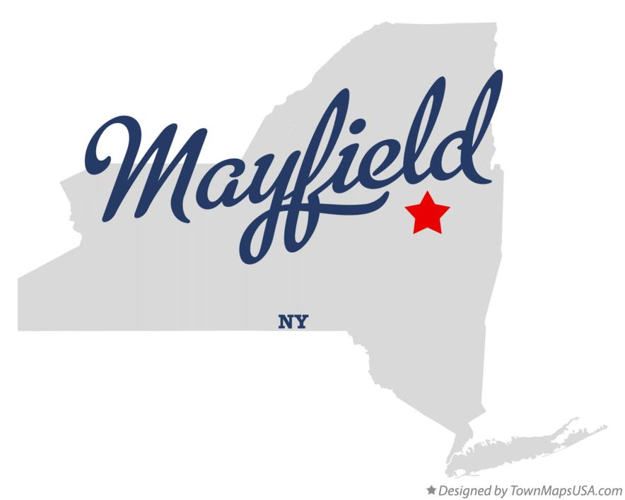 Map of Mayfield New York NY