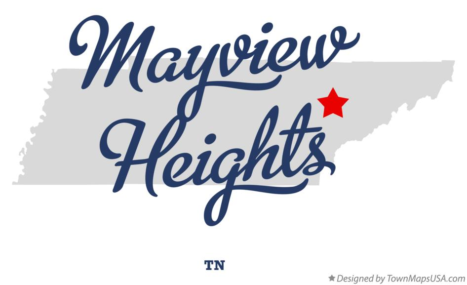 Map of Mayview Heights Tennessee TN