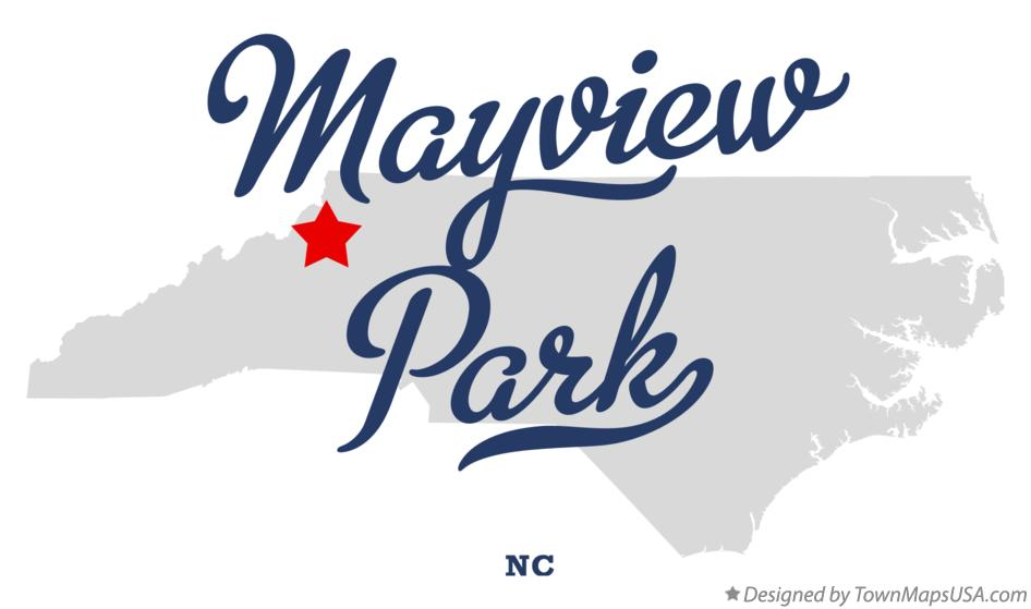 Map of Mayview Park North Carolina NC