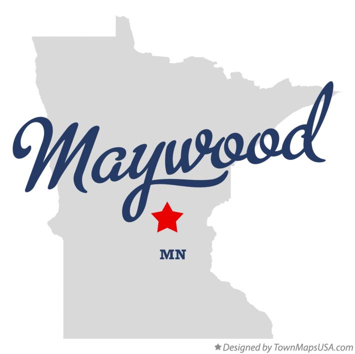 Map of Maywood Minnesota MN