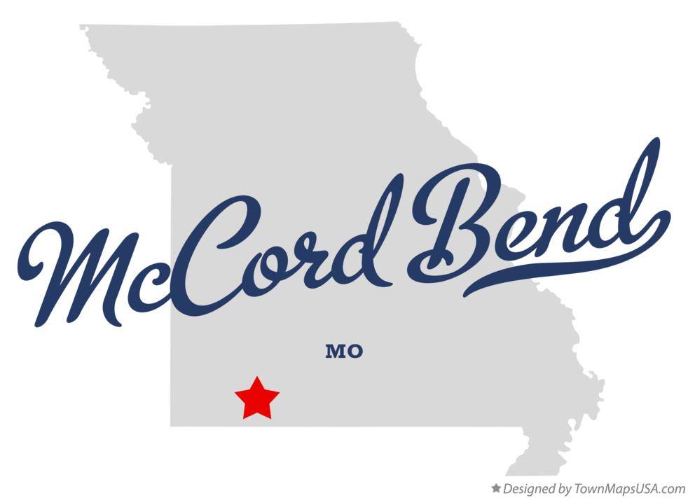 Map of McCord Bend Missouri MO