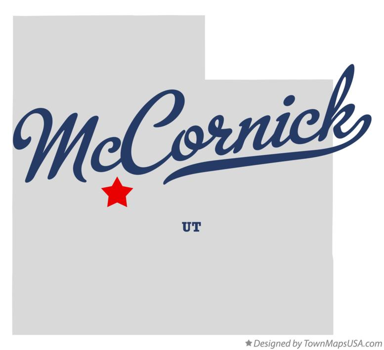 Map of McCornick Utah UT