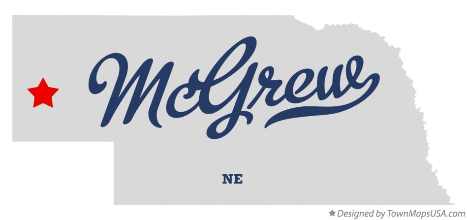 Map of McGrew Nebraska NE