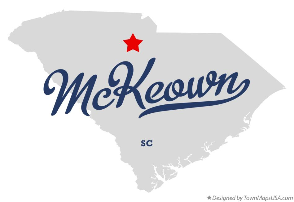 Map of McKeown South Carolina SC