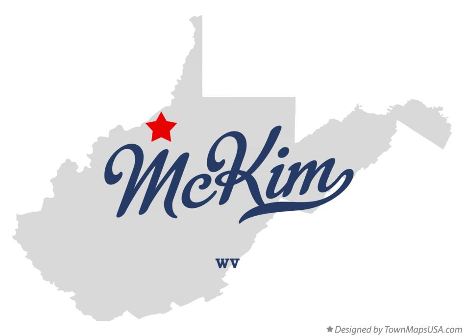 Map of McKim West Virginia WV