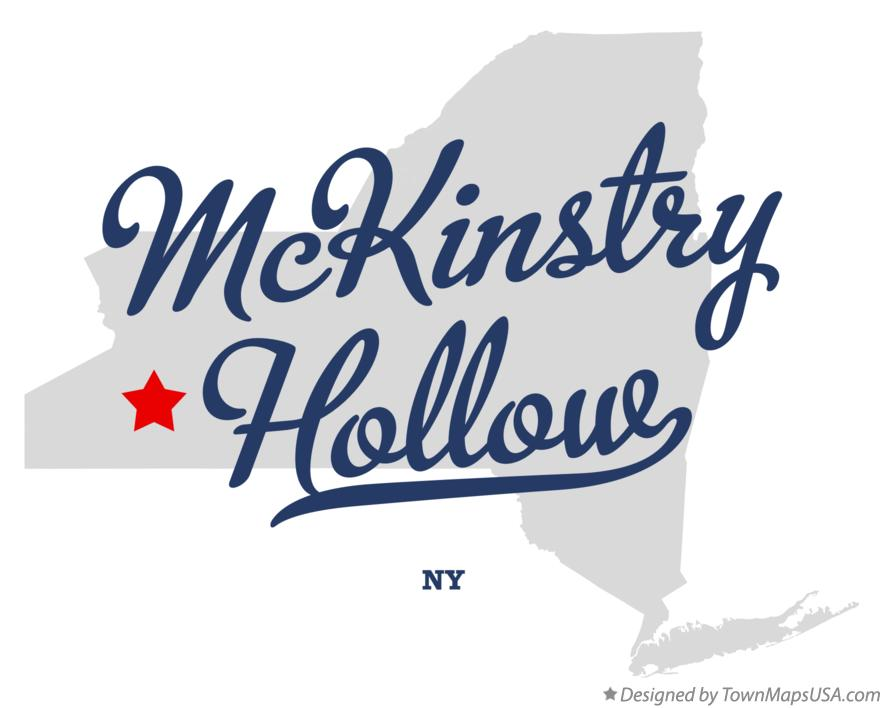 Map of McKinstry Hollow New York NY