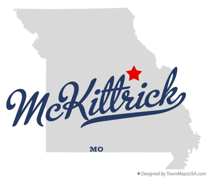 Map of McKittrick Missouri MO