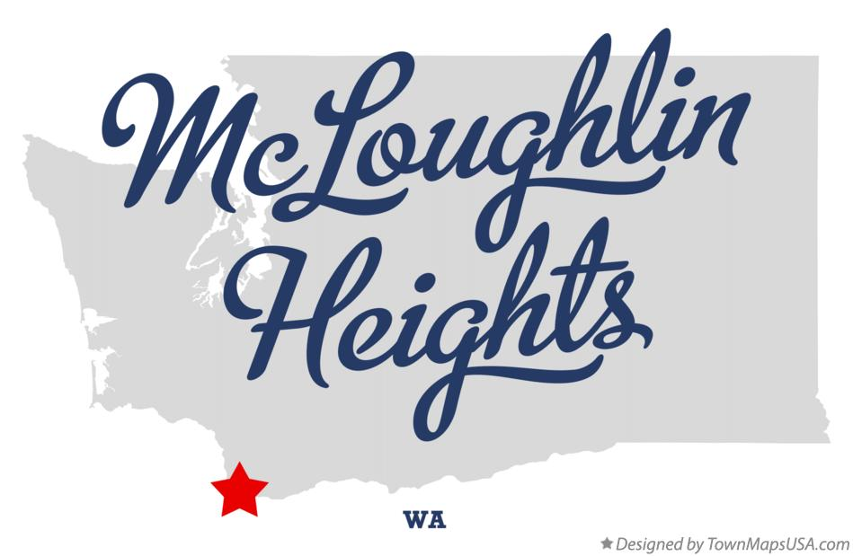 Map of McLoughlin Heights Washington WA