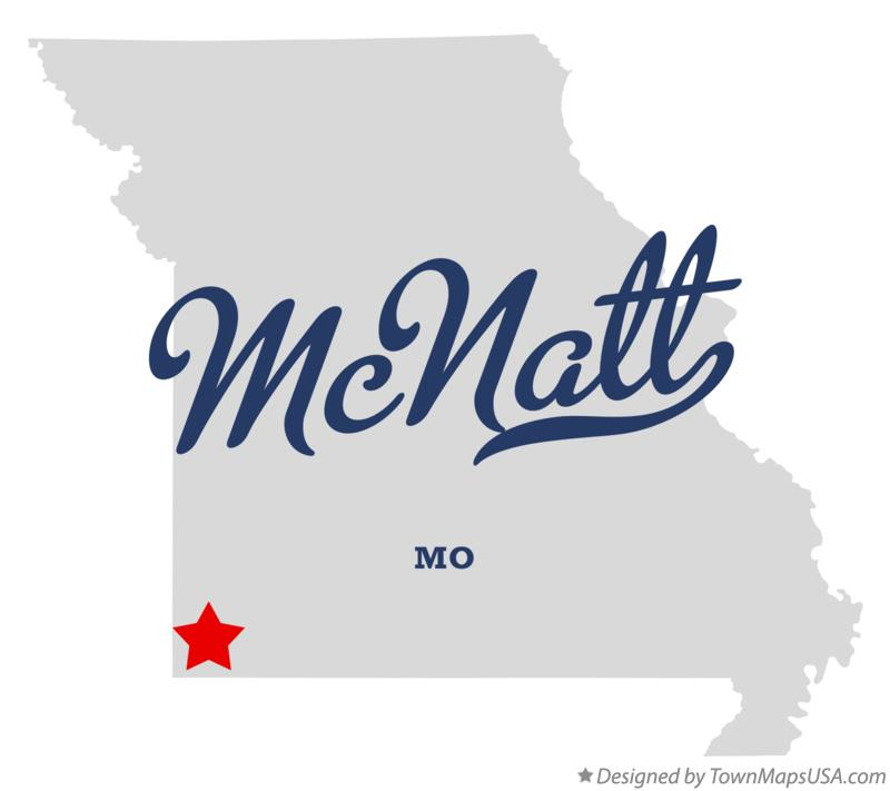 Map of McNatt Missouri MO