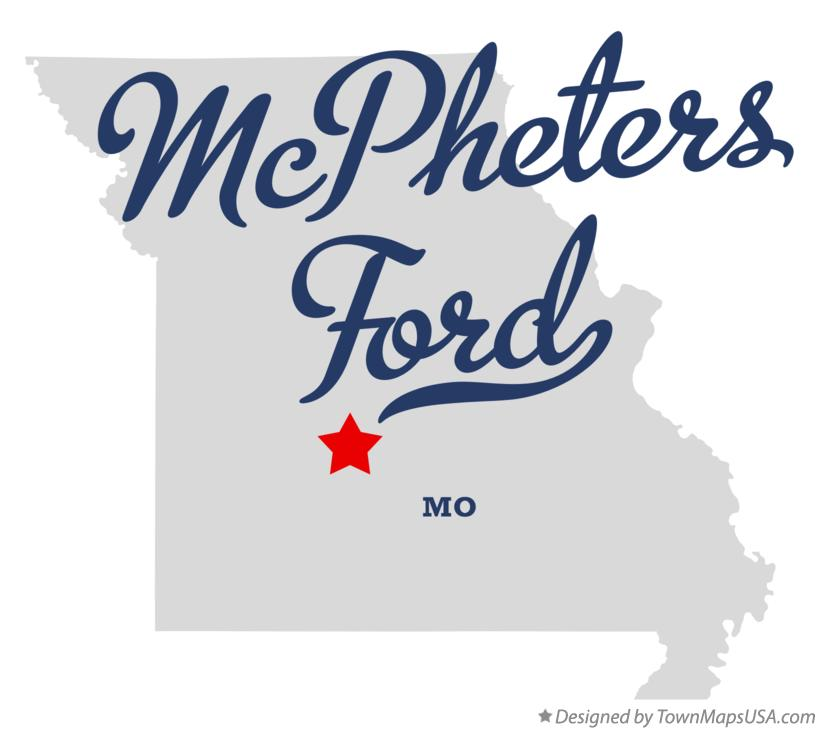 Map of McPheters Ford Missouri MO