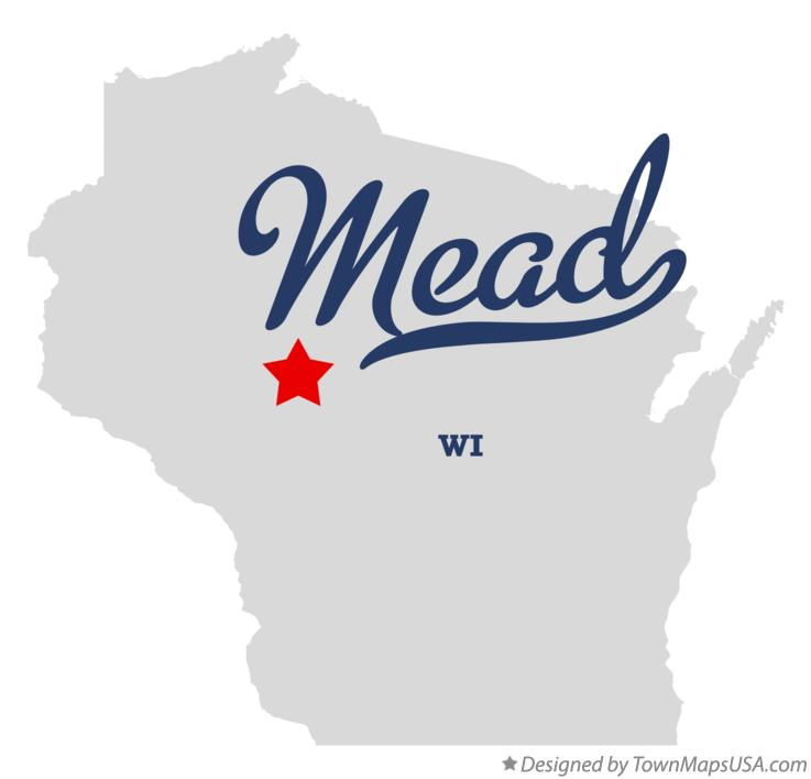 Map of Mead Wisconsin WI