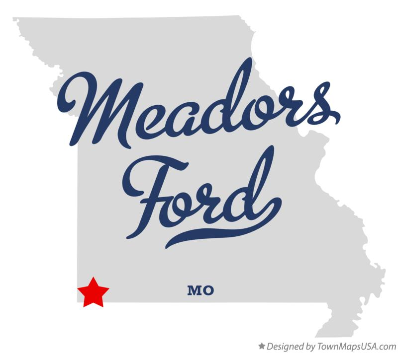 Map of Meadors Ford Missouri MO