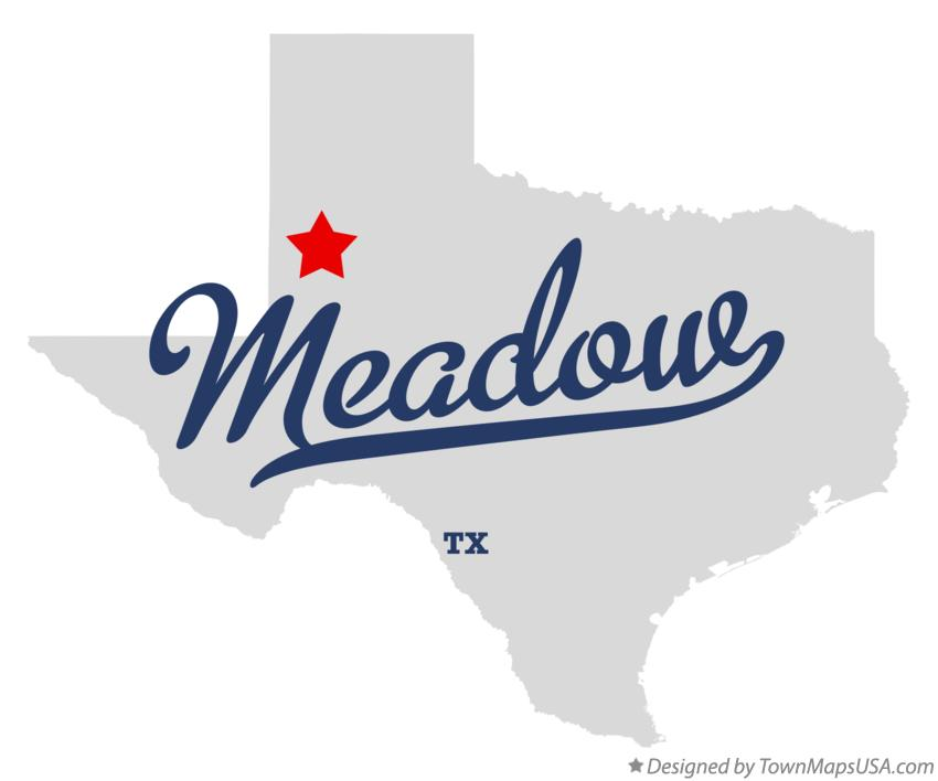 Map of Meadow Texas TX