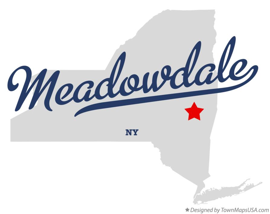 Map of Meadowdale New York NY