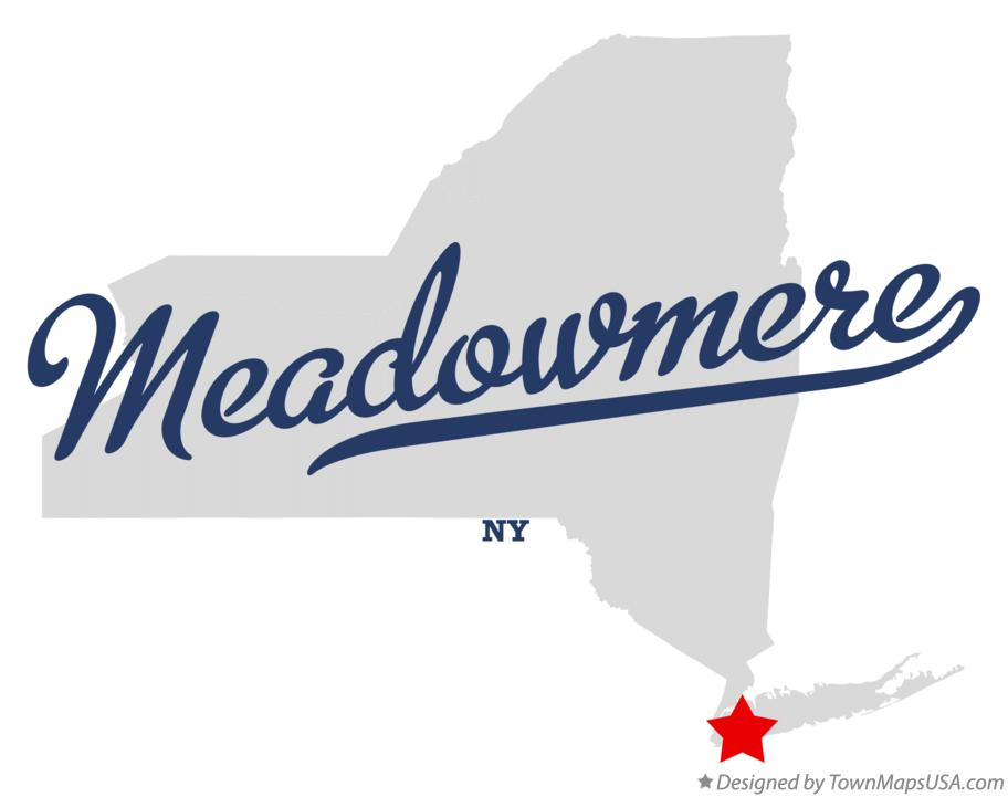 Map of Meadowmere New York NY