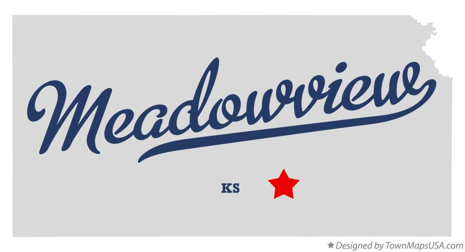Map of Meadowview Kansas KS