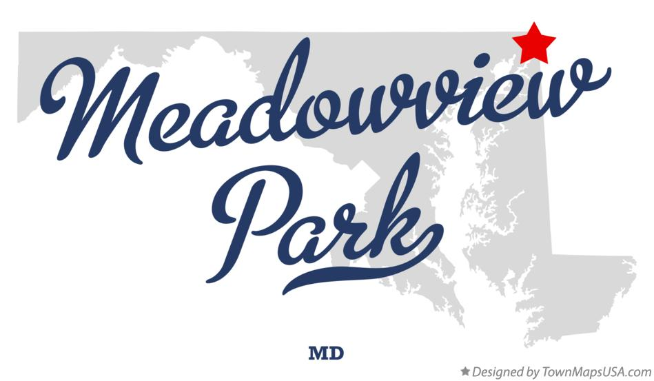 Map of Meadowview Park Maryland MD