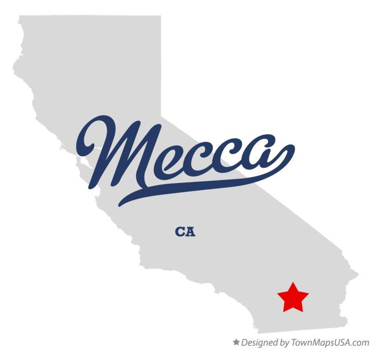 Map Of Mecca Ca California