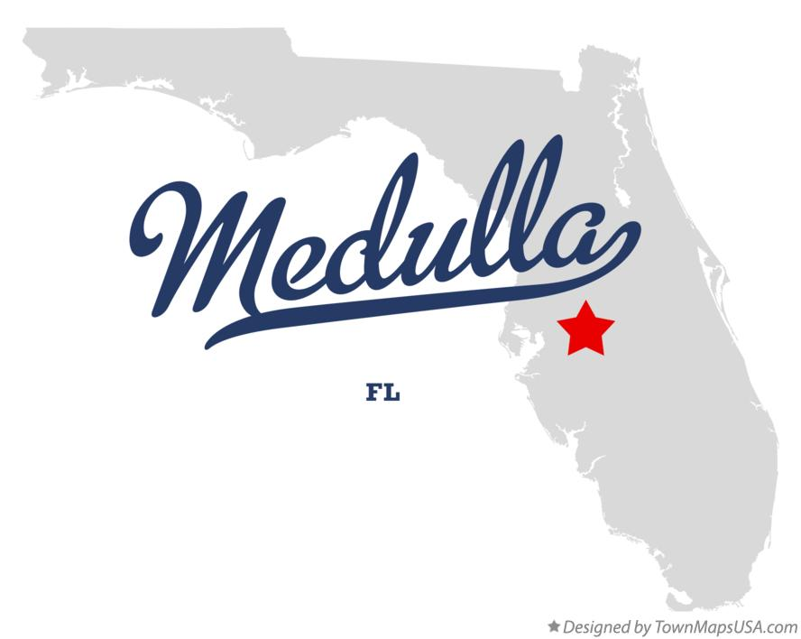 Map of Medulla Florida FL