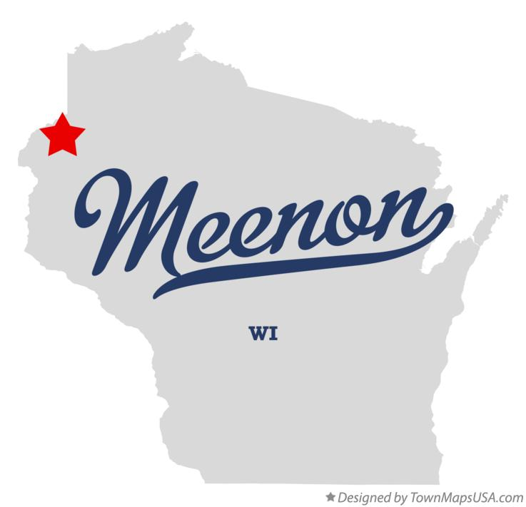 Map of Meenon Wisconsin WI