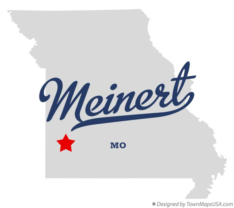 Map of Meinert Missouri MO