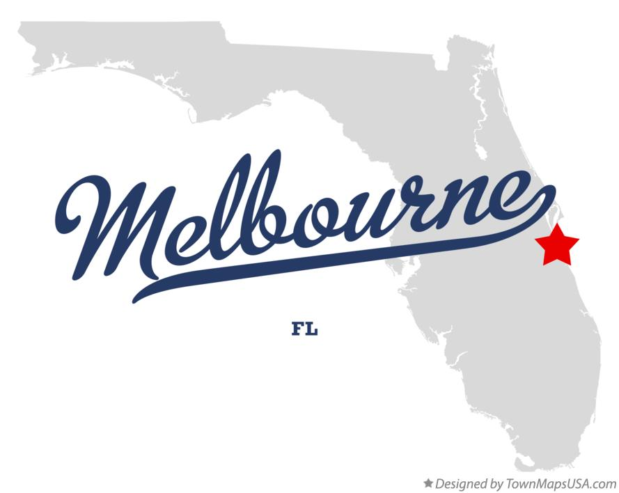 Melbourne Beach Florida Map.Map Of Melbourne Fl Florida