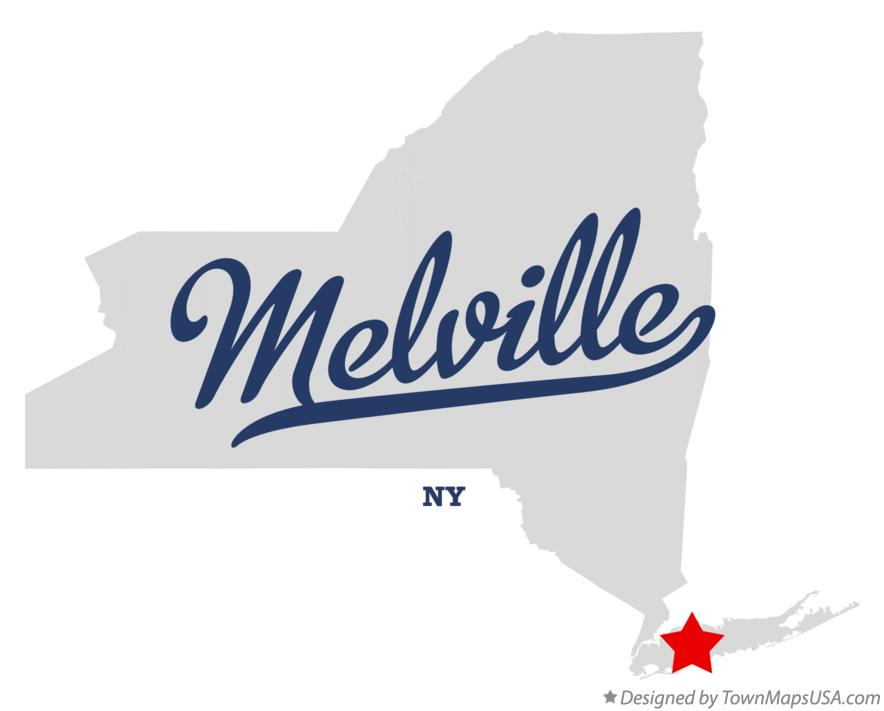 Map of Melville New York NY