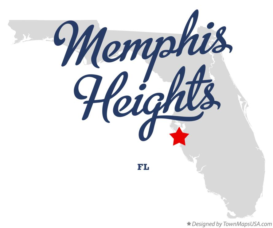Map of Memphis Heights Florida FL