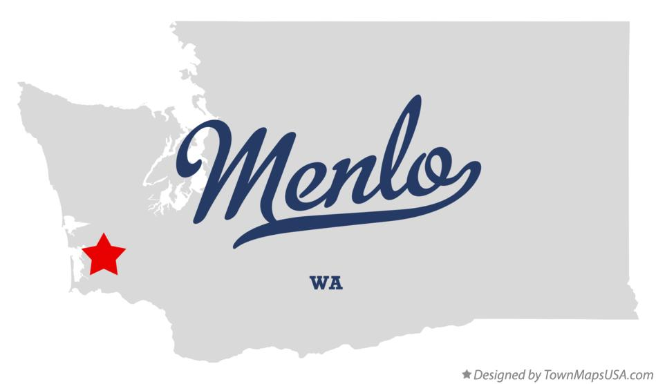 Map of Menlo Washington WA