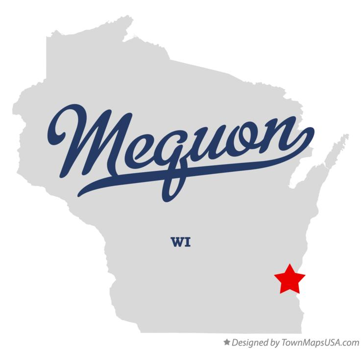 Map of Mequon Wisconsin WI