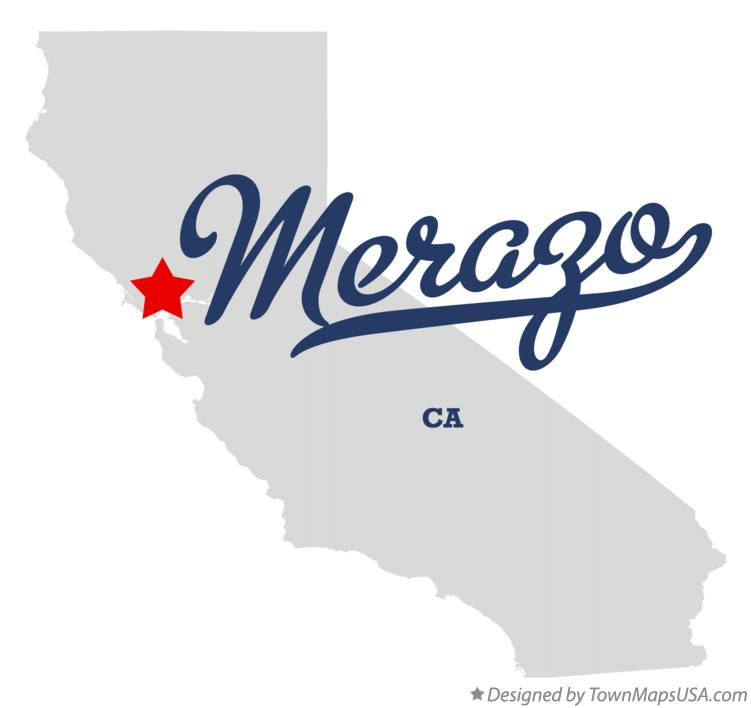Map of Merazo California CA