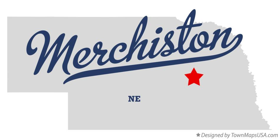 Map of Merchiston Nebraska NE