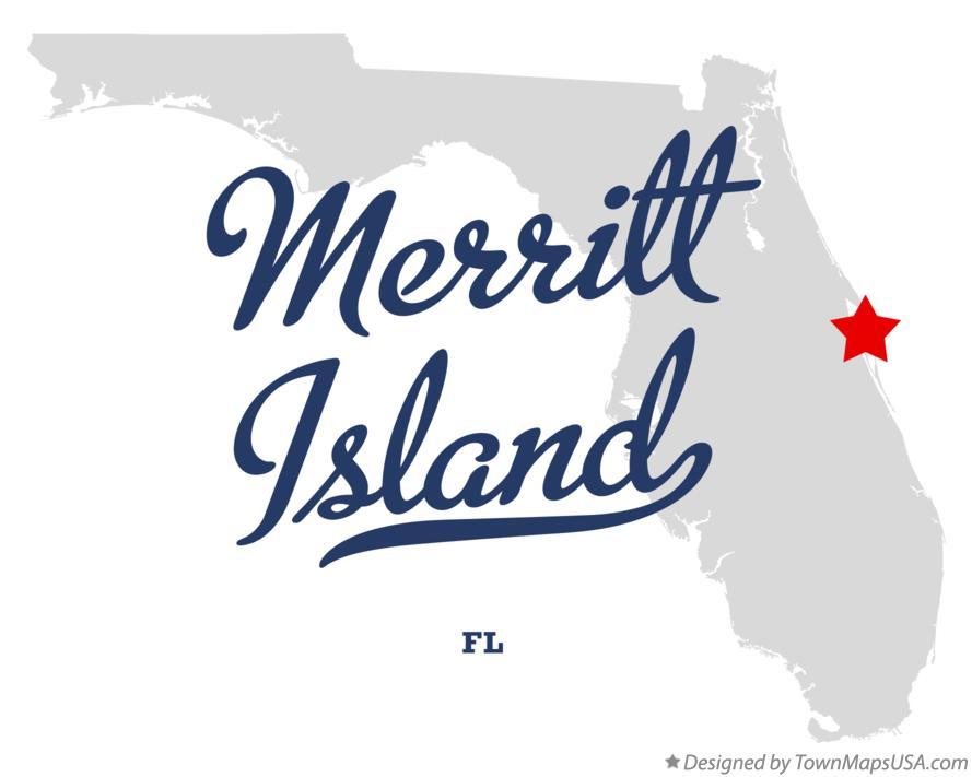 Merritt Island Florida Map.Map Of Merritt Island Fl Florida