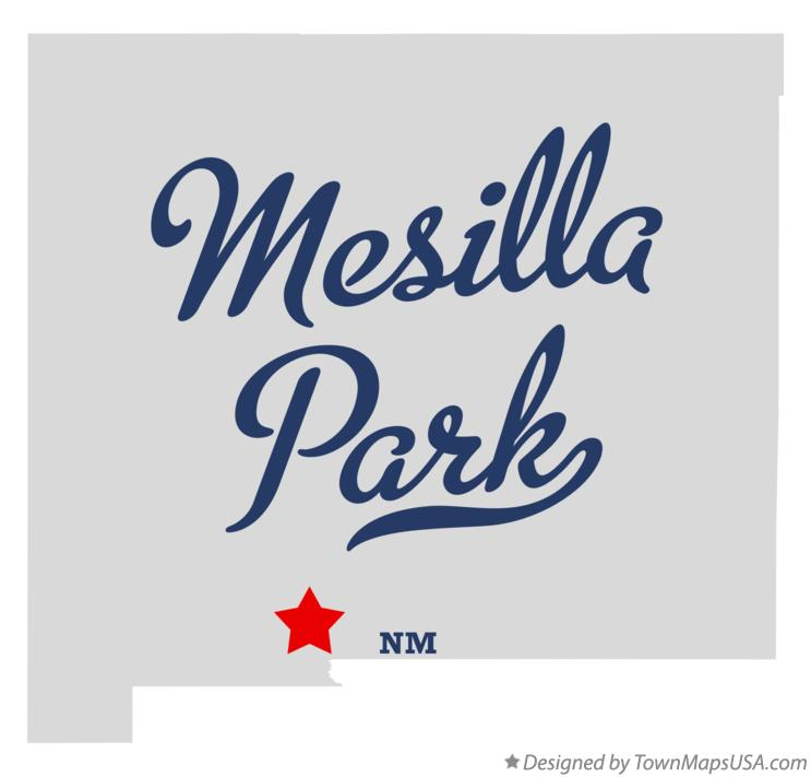 Map of Mesilla Park New Mexico NM