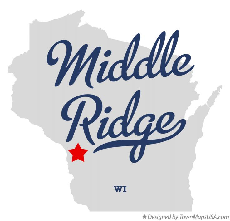 Map of Middle Ridge Wisconsin WI
